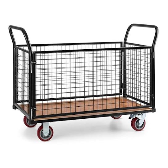 Loadster chariot grillagé Chariot de manutention max. 500kg