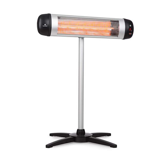 Rising Sun, lämmitin, 2500 W, IP34, korkeussäädettävä, hopeanvärinen