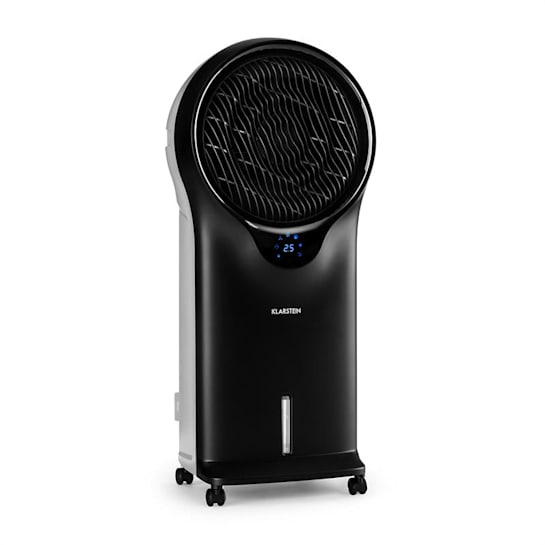 Whirlwind Ventilatore Raffrescatore Evaporativo Umidificatore 3in1 nero