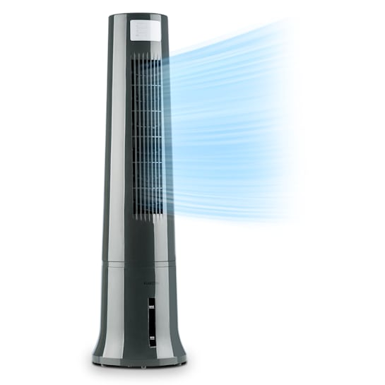 Highrise 3-in-1 Air Cooler 35W Air Flow 530 m³ / h Max. 2.5L Ice Pack Grey