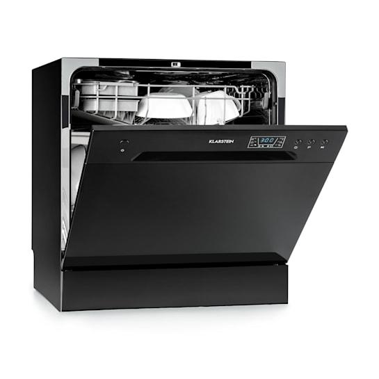 Amazonia 8 Geschirrspülmaschine Mini-Geschirrspüler A+ 1620W schwarz