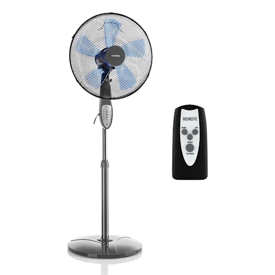 Summerjam Standing Fan 41cm 50W 3 Steps Grey