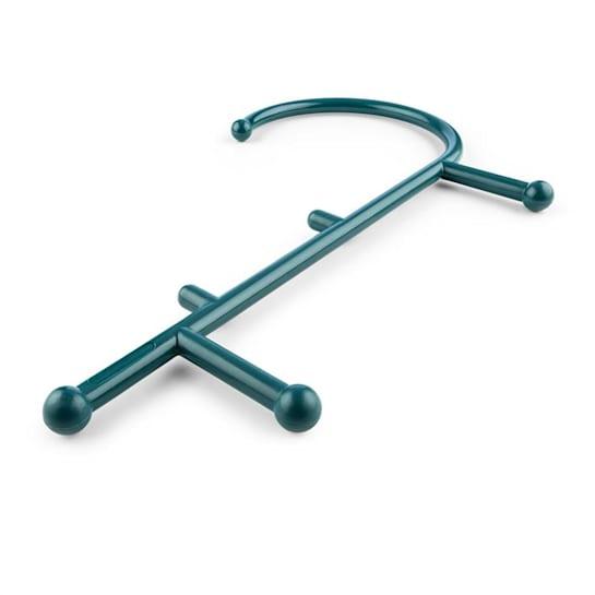 Mr. Trigger, cârlig de masaj, 6 puncte de masaj, nailon, verde