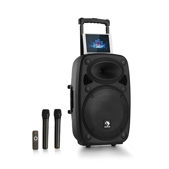 "Streetstar 12 Impianto PA Mobile 12"" Subwoofer Trolley BT USB/SD/MP3 OUC AUX"