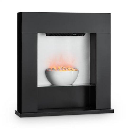 Studio-8 Kominek elektryczny LED 2000W czarny