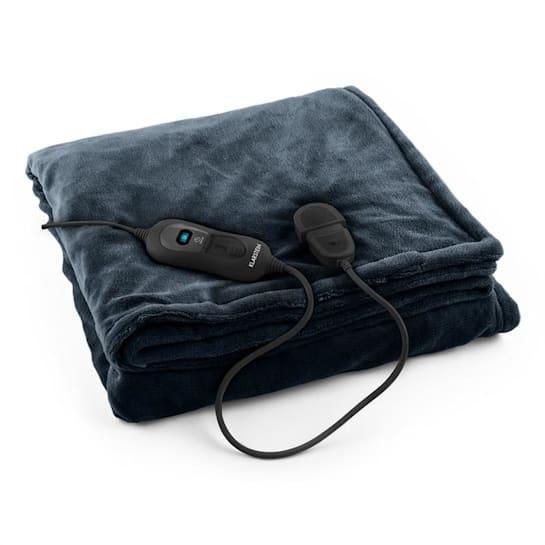 Dr. Watson XL Electric Heating Blanket 120W Washable 180x130cm Microplush Grey