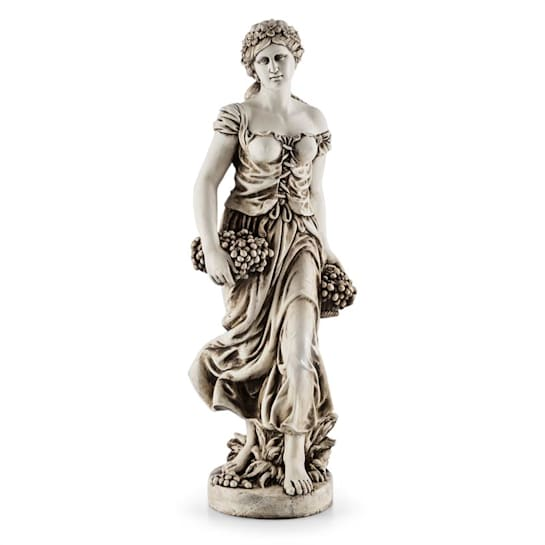 Ceres Skulptur Statue handgefertigt 1,2m Fiberglas-MgO Alabaster-Optik