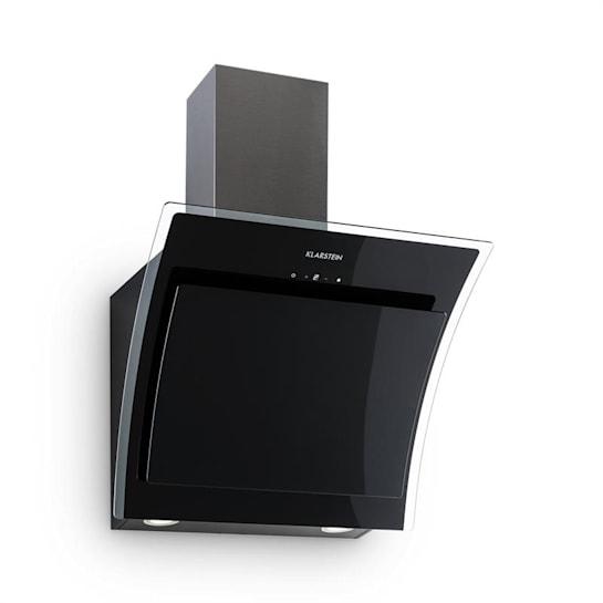 Sabia Dunstabzugshaube Sicherheitsglas Kopffrei 60cm Wandanbau schwarz