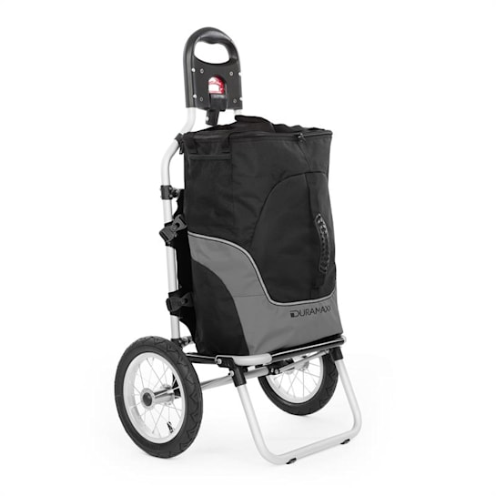 Carry Grey Bicycle Trailer Trolley Max. Capacity 20 kg Black/Grey