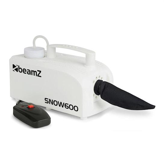 SNOW 600 Schneemaschine 600W 0,25L Tank 5m Kabel-Fernbedienung weiß