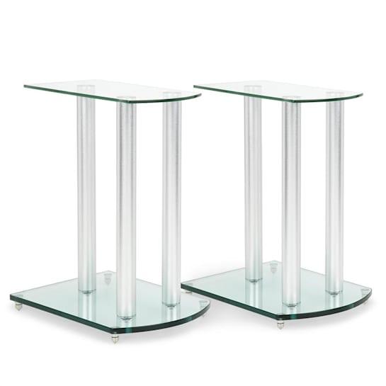 LS-46 Speaker stand Pair Glass Aluminum <10kg Capacity