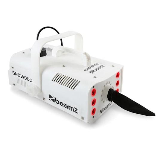 SNOW 900 LED Macchina Neve 900W LED 3in1 Serbatoio 1L Telecomando bianco