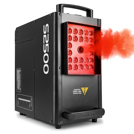 S2500 Nebelmaschine 2500W 24x10W 4-in1-LEDs DMX 3,5L Tank