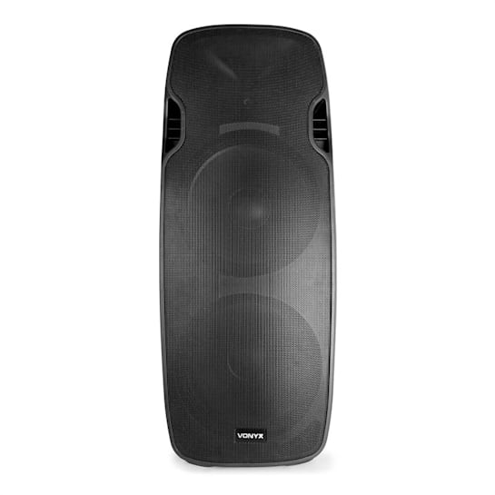 "AP215ABT MP3 Hi-End Aktiv Lautsprecher 1200W 2x15""-Mid-Low-Tieftöner USB"