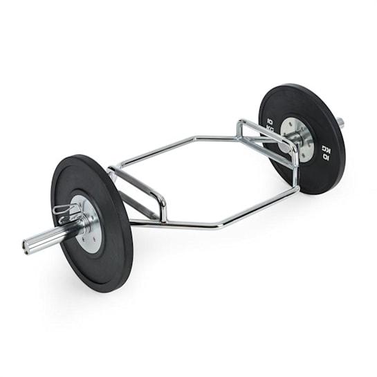 Beastbar Hex-Bar tyč na činky, deadliftbar, tricepsbar, pochromovaná