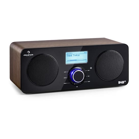 Worldwide Stereo Internet Radio Spotify Connect App Control Walnut