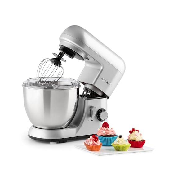 Bella Pico Argentea, mini kuchyňský robot, 550 W, 6 stupňů, 4 litry, stříbrný