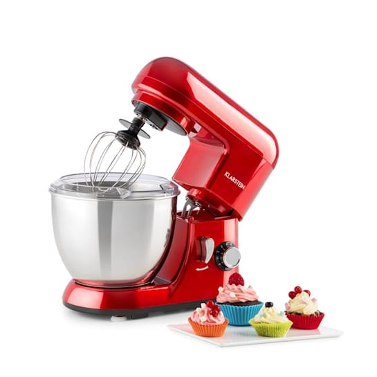 Bella Pico Mini-Küchenmaschine 550W 6 Stufen 4 Liter rot