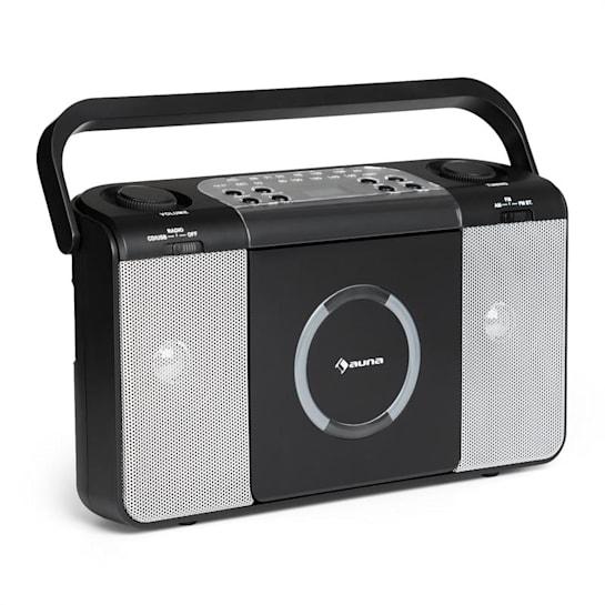 Boomtown USB lecteur CD & Radio noir