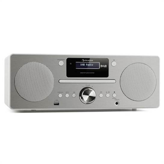 Harvard Micro-Anlage DAB/DAB+ UKW-Tuner CD-Player USB-Charger weiß