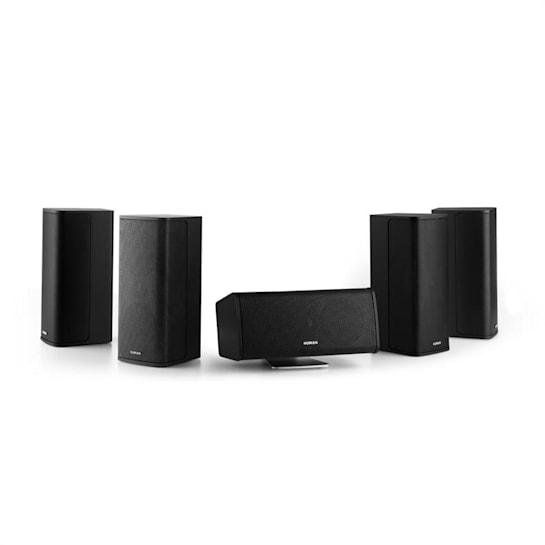 Ambience 5.0-Lautsprecher-System schwarz inkl. 30m Lautsprecherkabel