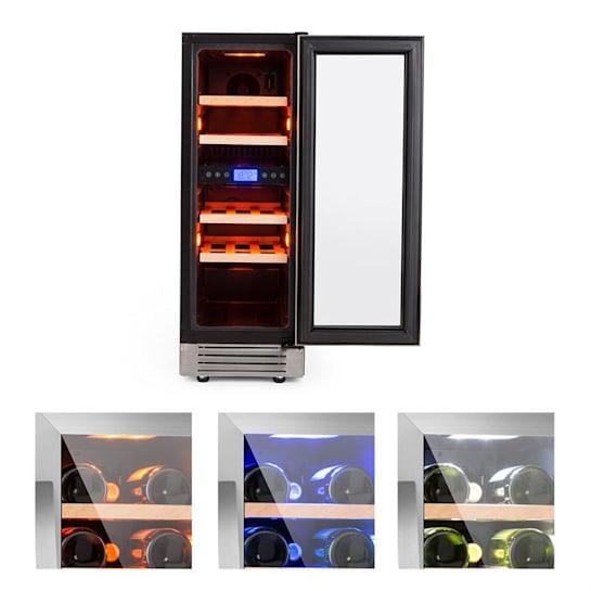 Vinovilla Duo17 Two Zone Wine Refrigerator 53l 17 Bolttles