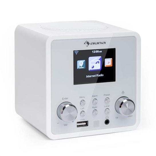 IR-120 internetové rádio, WiFi DNLA UPnP app-control, biela farba