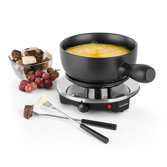 Sirloin Raclette with Fondue Ceramic Pot 1200W Black