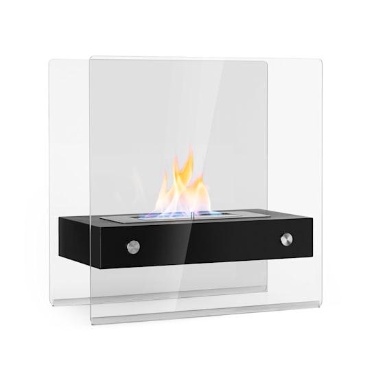 Phantasma Glassy Ethanol Fireplace Smokeless Stainless Steel Burner Stainless Steel