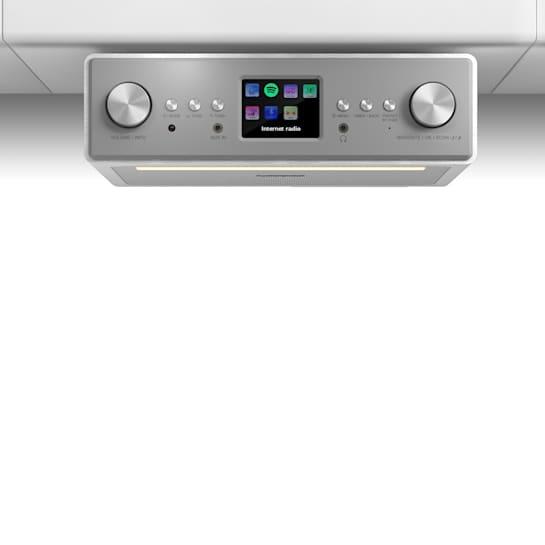 """Connect Soundchef radio de cocina empotrable con Internet DAB+ FM bafles de 2 x 3"""" blanco"""