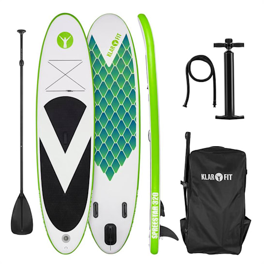 Spreestar 320 aufblasbares Paddelboard SUP-Board-Set 320x12x81 grün