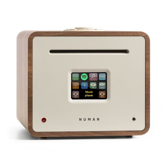 Unison Retrospektive Edition - All-In-One Receiver with an Amplifier Walnut