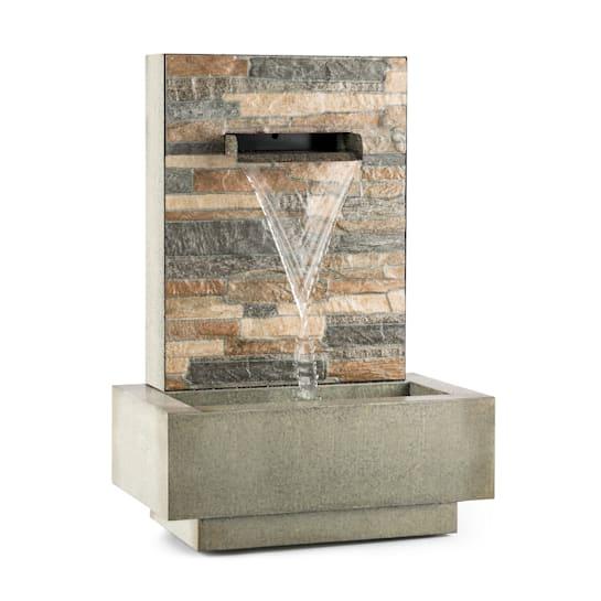 Watergate, zahradní fontána, vnitřní/vnější prostředí, 15 W čerpadlo, 10 m kabel, pozinkovaná