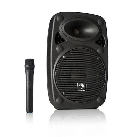 "Streetstar 8, mobil PA rendszer, 8"" (20 cm) woofer, UHF mikrofon, max. 200 W"