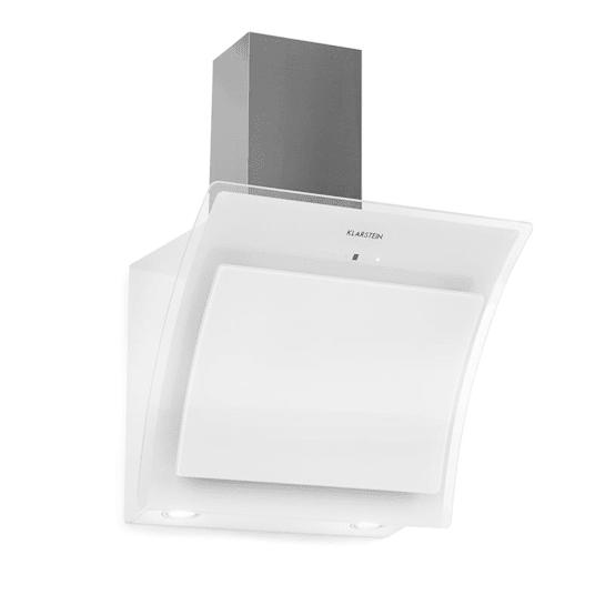 Sabia 60, Kuhinjska napa, 60 cm, 600 m³/u, LED, 3 stopnje zmogljivosti, bela barva