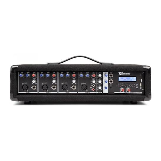 PDM-C405A 4-Kanal-Mixer mit Verstärker, USB-und SD-Slot