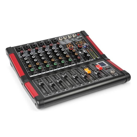PDM-M604 Music Mixer 6 Mikrofoneingänge 24-Bit Multi FX-Prozessor
