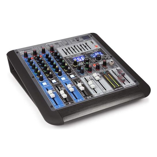 PDM-S604 6-Kanal-Mischpult DSP/MP3, USB-Port, BT-Empfänger