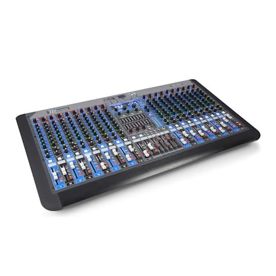 PDM-S2004 20-Kanal-Mischpult DSP/MP3, USB-Port, BT-Empfänger