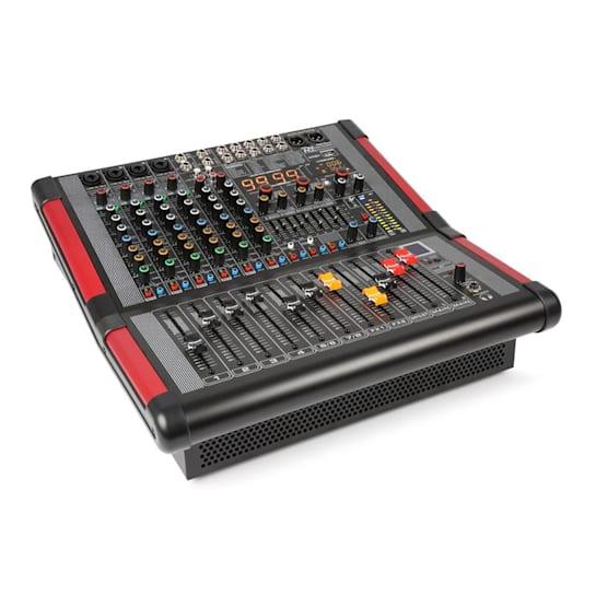 PDA-S804A 8-Kanal-Mixer mit integriertem  Verstärker (2x350 RMS)