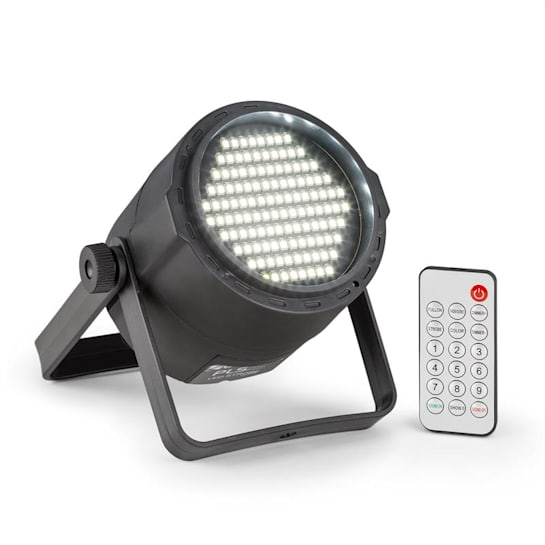 PLS15 Strobe LED stroboszkóp, 120 x 3528 LED, 6500K, 2 DMX csatorna