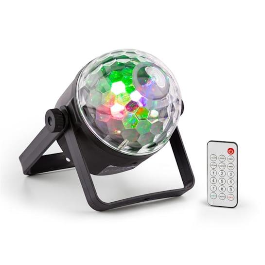PLS35 DJ Jellyball 4 x 3W rote, grüne, blaue und UV-LEDs DMX/Standalone