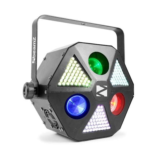 BeamZ MadMan, LED reflektor, 132 RGB SMD LED světel, DMX nebo samostatný režim