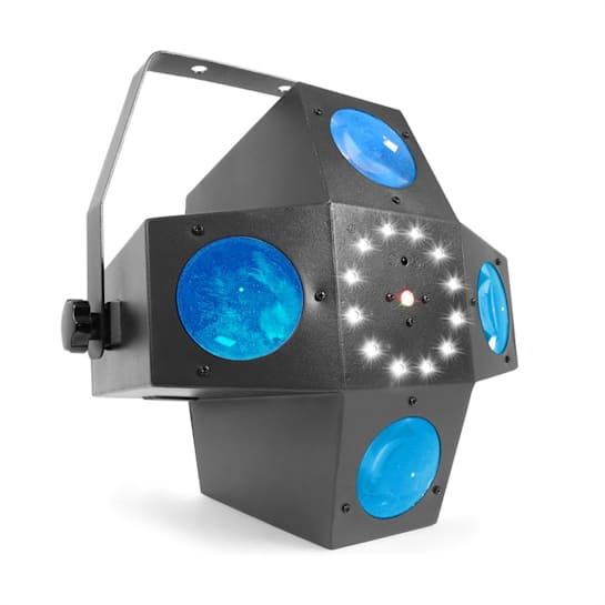MULTITRIX LED 20X 1W RGBW LEDky DMX NEBO STAND-ALONE REŽIM