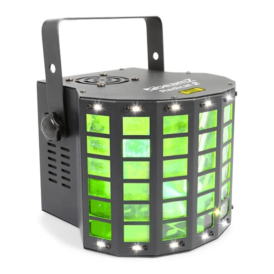 Radical 2 Effetto 3in1 4x LED 3W RGBW Laser Rosso/Verde Canali 4 DMX