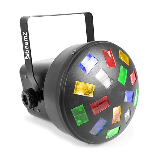 LED Mini Mushroom 6x 3W RGBW LEDek, automatický režim a režim ovládání pomocí hudby