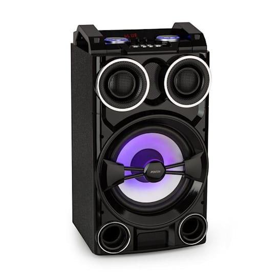 LIVE102 Party Station 300W USB-/BT-Mediaplayer RGB-LED Fernbedienung
