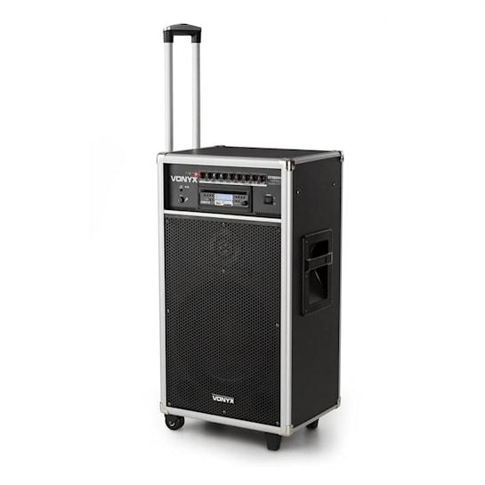 ST180MKII, přenosný PA systém, 450 W, USB, SD / MMC pro MP3 CD přehrávače