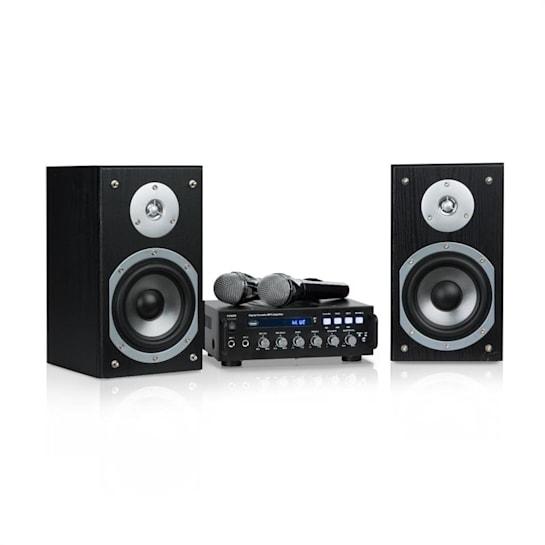 Karaoke Star 3, karaoke set, 2 x 75 W max., BT, USB port, Line-In, 2 x mikrofon