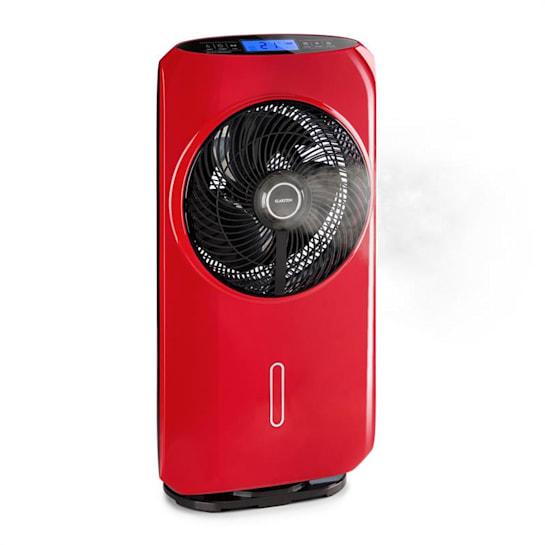 Cool Tropic, stojanový ventilátor so zvlhčovačom vzduchu, 48 W, 2820 m³/h, červený